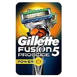 Gillette Fusion 5 Proglide Power Lames de rasoir Homme + 1 Lame de Recharges, Ancienne Version