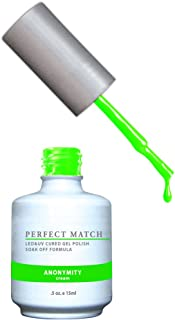 LECHAT Perfect Match Nail Polish, Anonymity, 2- 0.5 Ounce
