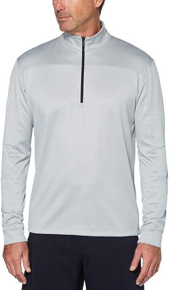 Callaway Trust Max 41% OFF Men's Weather Series Thermal Fleece Zip Golf Pullov 1 4