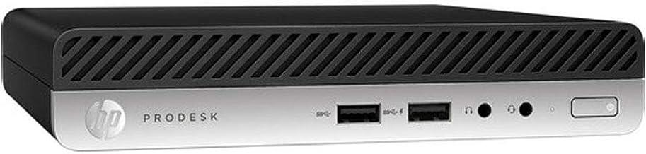 HP ProDesk 400 G4 Mini Desktop Computer, 2.1 GHz Intel Core i5-8500T Six-Core, 8GB RAM, SSD 256GB Windows 10 Pro (4BC39UT#...