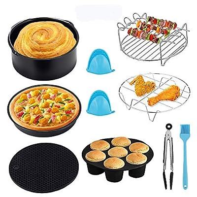 Geisofu Air Fryer Accessories, 9PCS Deep Fryer ...