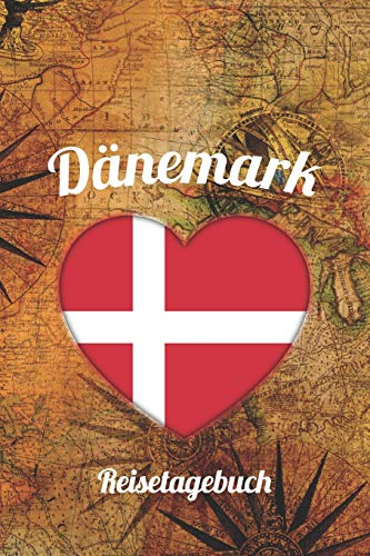 Dänemark Reisetagebuch: A5 Reise Journal I Notizbuch I Urlaubs Planer I Road trip Planer I Travel notebook I 6X9 Pocket journal I Geschenk für Backpacker