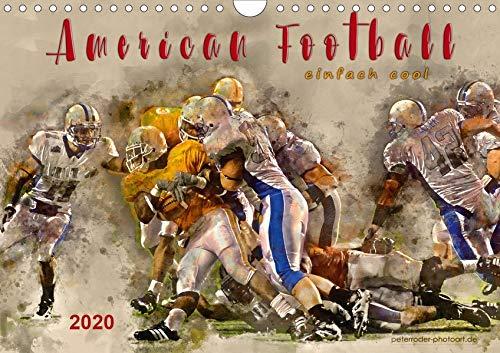 American Football - einfach cool (Wandkalender 2020 DIN A4 quer): American Football, Teamsport der Extra-Klasse - beeindruckende Bilder in ... (Monatskalender, 14 Seiten ) (CALVENDO Sport)