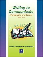 WRITING TO COMMUNICATE (2E)