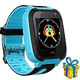 Jslai Smartwatch per Bambini GPS/LBS Tracker, Smart Phone Watch per Ragazzi Ragazze con SOS Chiamata...