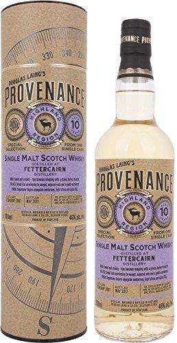 Douglas Laing Fettercairn Provenance 10 Years Old Single Malt Scotch mit Geschenkverpackung 2007 Whisky (1 x 0.7 l)