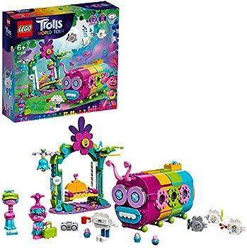 LEGO Trolls World Tour Rainbow Caterbus Caterpillar Bus Building Set