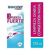 Rhinomer - Spray nasal 100% agua de mar, fuerte 3, para adultos y niños a partir de 6 años - 135 ml