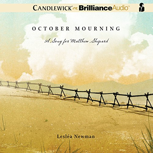 October Mourning audiobook cover art