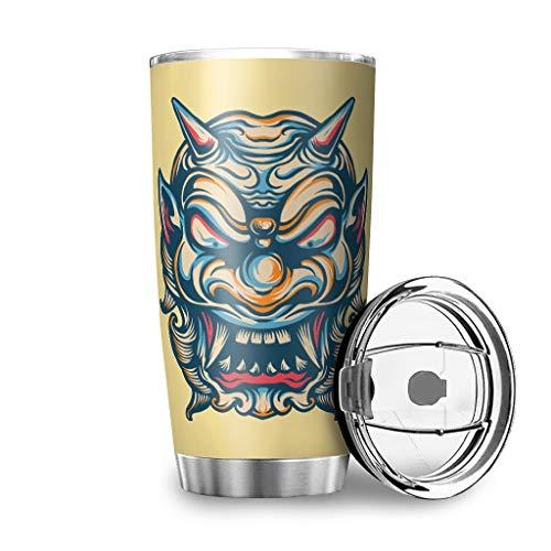 Bohohobo - Borraccia in acciaio inox con doppio isolamento, per voi e il vostro amico, Acciaio INOX 18/8, bianco, 600ml