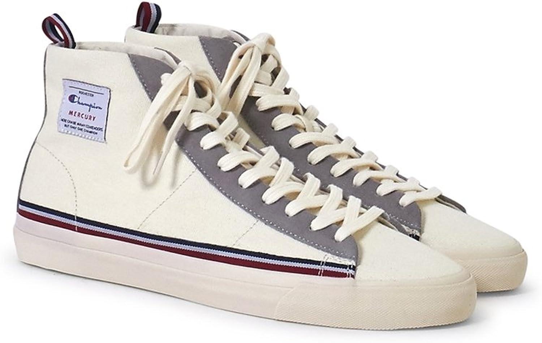 Champion Footwear Mid Cut Mercury Canvas Trainer White