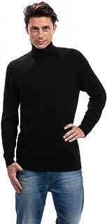 Mens Turtleneck Sweater - 100% Cashmere