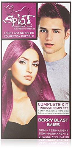 Splat Berry Blast Langanhaltende Haartönung Set (Pink)