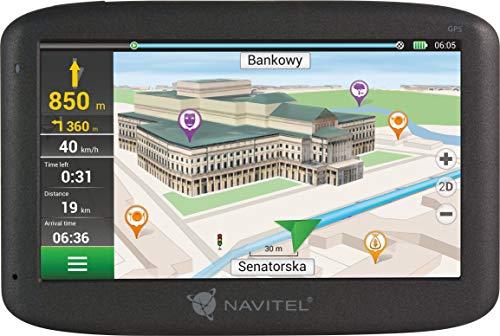 Navitel E500 navigatiesysteem 5Navitel navigatieapparaat 5 inch display met Lifetime kaarten Europa