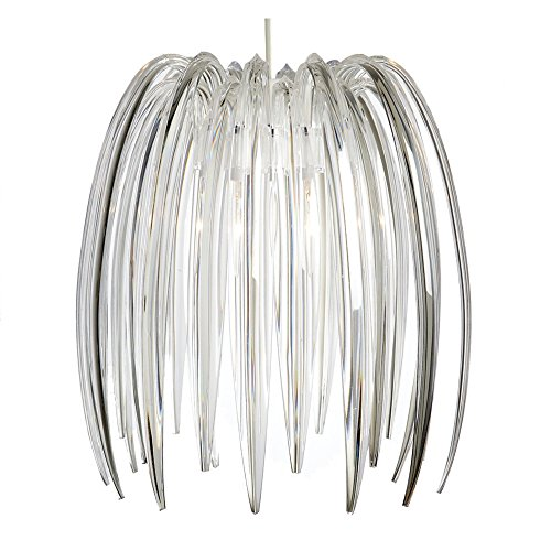 Lighting Web Co Clear Suspension en acrylique forme griffe Transparent