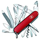 Victorinox 1.3773 - Handyman  Coltellino Multiuso, 24 funzioni, Rosso