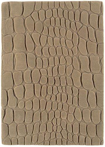 Moderner Designer Teppich braun Chapel 200x300CM Taupe