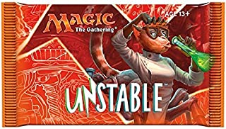 Magic The Gathering Unstable Booster Pack Trading Card Game - One Booster Pack