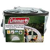 Coleman Event Shelter Pro XL 4.5 x 4.5 mのサイドパネル、窓とドアのあるGazeboサイドパネル、高い日焼け止め保護50+、防水、グリーン
