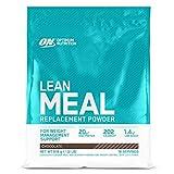 Optimum Nutrition Lean Meal Replacement, Polvo Multivitaminas Rico en Proteínas con Minerales, Chocolate, 18 Porciones, 918 g, Embalaje Puede Variar