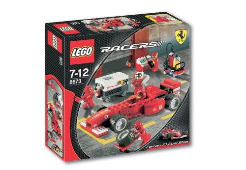 Lego Racers  8673 - Ferrari F1 Tankstopp