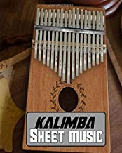 kalimba sheet music: wonderful Blank Lined Gift notebook For kalimba lovers it will be the Gift Idea for kalimba Lover