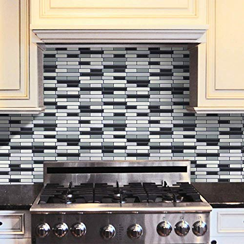 U/K Hochwertig3D Selbstklebende Wandfliesen Clever Tiles Glitter Mosaic Self Adhesive Tiles Langlebig und nützlich