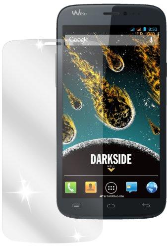 Ecultor I 6X Schutzfolie klar kompatibel mit Wiko Darkside Folie Bildschirmschutzfolie