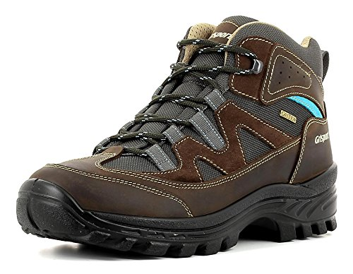 Grisport Unisex Schuhe Herren und Damen Trekking Dakar Trekking- und Wanderstiefel, atmungsaktive Gritex-Membran-Konstruktion Braun (V75), EU 41
