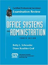 CPS Examination Review for Office Systems and Administration (4th Edition)
