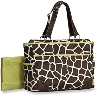 Carter's Fashion Tote Bag, Giraffe Print (Discontinued by Manufacturer)