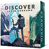 Fantasy Flight Games- Discover: Lands Unknown - Español, Color (DSC01ES)
