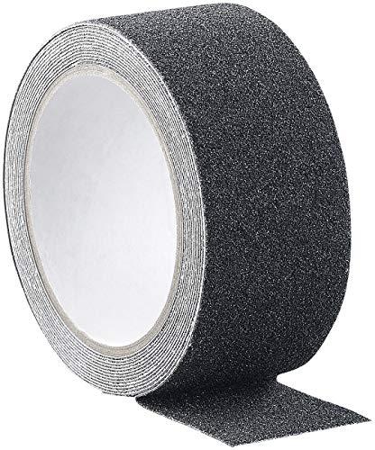 AGT Antirutschband: Anti-Rutsch-Klebeband, robust und wasserfest, 48 mm x 4 m, schwarz (Anti Rutsch Klebeband Außenbereich)