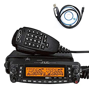FONGHOO TYT TH-9800D Quad Band 50W Cross-Band Mobile 10M/6M/2M/70CM Mobile Transceiver A+B Dual Band Two Way Radio