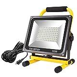 Ustellar 5500LM 55W LED Work Light (400W Equivalent), 2 Brightness Levels,...