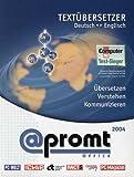 PROMT (@PROMT) Office. Volltextübersetzung Deutsch / Englisch. CD-ROM ab Windows 98