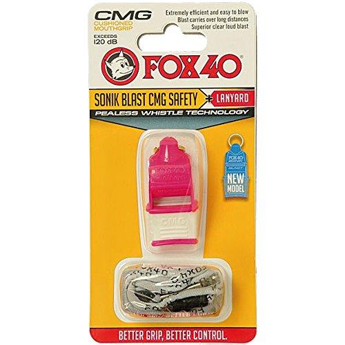 FOX 40(フォックス40) ソニックブラストCMG マルチ ピンク/ホワイト 笛 ホイッスル