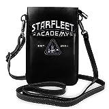shenguang Borsa a tracolla cosmetica per donna con borsa per cellulare Starfleet Academy