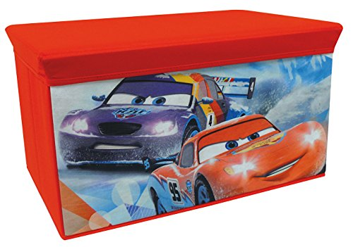 FUN HOUSE - 712444 - Ameublement Et Décoration - Cars Ice Racing - Banc De Rangement Pliable
