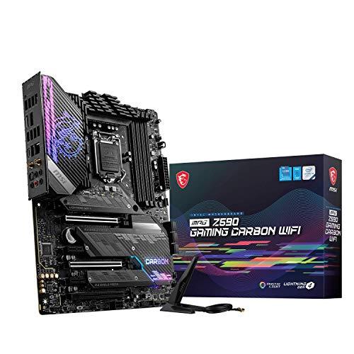 MSIMPGZ590GAMINGCARBONWIFIマザーボードATX[IntelZ590チップセット搭載]MB5240