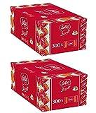 Lotus Since 1932 - Biscoff 600 pz. Gli Originali Biscotti Caramellati. Biscotto al Caramello, Caffè Thè Biscotto Biscottino Impacchettati Singolarmente Confezione da 600 pezzi