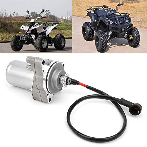Eosnow Motor de Arranque, Material de aleación de Acero 12T Motor de Arranque Resistente al Desgaste para Pit Quad Dirt Bike ATV 90cc 110cc 125cc