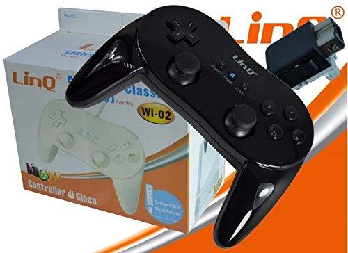 Mando Joypad con cable compatible con Wii Wiiu Linq Wi-02