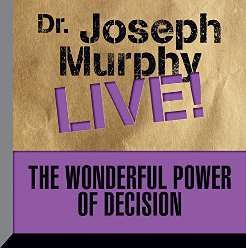 The Wonderful Power of Decision audiobook cover art