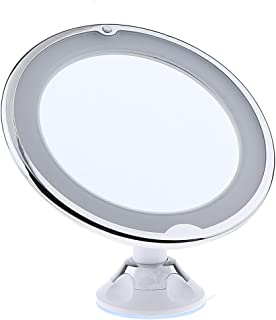 Blesiya Bathroom 7X Magnifying 360° Swivel Mirror with Suction Cup for Makeup Application - Tweezing and Blackhead/Blemish Removal