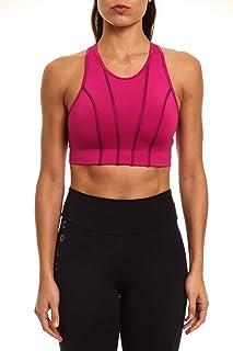 Top costura contrastante, Colcci Fitness, Feminino