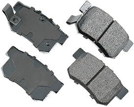 Akebono ACT537 Proact Ultra Premium Ceramic Disc Brake Pad kit