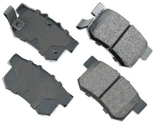 Akebono ACT537 Proact Ultra Premium Ceramic Disc Brake Pad kit