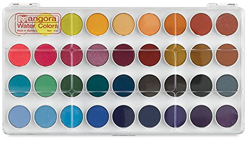 Angora Watercolor Set, 36 Color Pan Set (100510660)