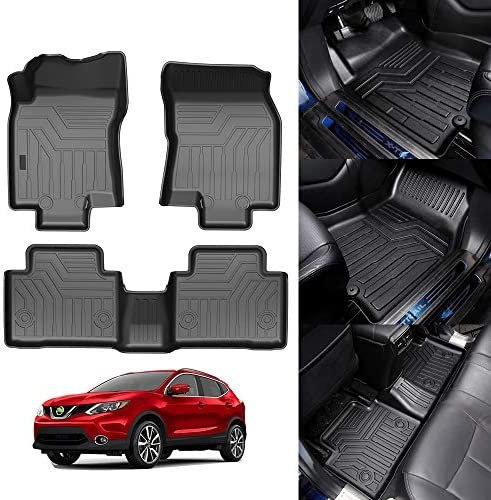 KUST 3D Floor Mats for Nissan Rogue 2014 2020 Not Fit for 2021 Rogue Third Generation T33 No product image